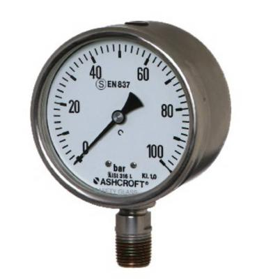 calibration of pressure gauge lab manual