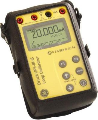 UPS III Intrinsically Safe Loop Calibrator