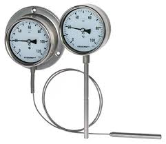 All stainless steel gas actuated thermometer Model S5500