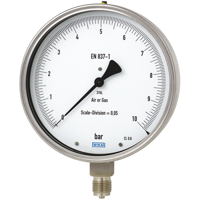 Wika Models 332.50 & 333.50 Stainless Steel Test Gauge