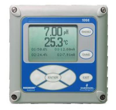 1066 Two-Wire Liquid Analytical Transmitter