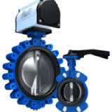 Keystone GRW/GRL resilient seated butterfly valve